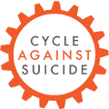 Cycle Against Suicide Sticky Logo